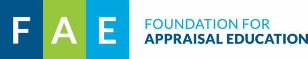 The 7th annual Foundation for Appraisal Education (FAE) Seminar will be held September 7th-8th, in Falls Church, Virginia.