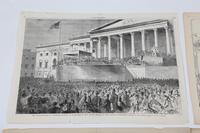 "The Inauguration of Abraham Lincoln,"" as drawn by Winslow Homer, for the pages of Harper's Weekly, 1861"
