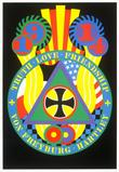 Robert Indiana, KvF from The Hartley Elegies, 1990.  Screenprint.  Collection of The Tobin Theatre Arts Fund.  ©2013 Morgan Art Foundation, Artists Rights Society (ARS), New York