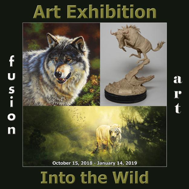 Into the Wild Art Exhibition Now Open www.fusionartps.com