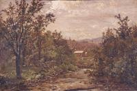 "John S.  Jameson, ""River and Mountains,"" circa 1860"
