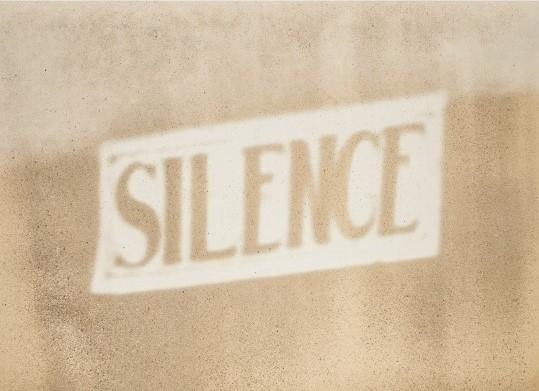 Christian Marclay, Silence