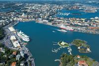 View of Helsinki Harbor