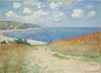 Claude Monet, Path in the Wheat Fields at Pourville, 1882.  Bequest of Frederic C.  Hamilton.