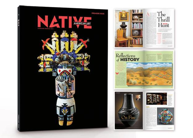 Launch issue of Native American Art Magazine
