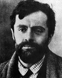 Amedeo Modigliani (1884-1920) in 1919.