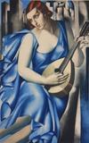 Tamara Lempicka-Femme a la mandolin