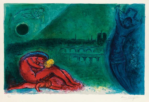 Marc Chagall from Galerie Raphael.