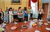 Curator's tour at Otis House in Boston, Mass.