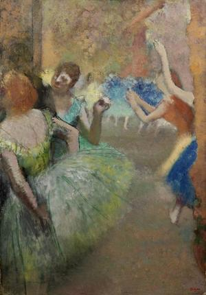 Edgar Degas' 1885 oil on canvas, Scène de ballet, is to be offered at the Impressionist & Modern Art auction on February 3, 2015 at Bonhams