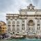 Trevi Fountain, part of the historic center of Rome that is protected as a UNESCO World Heritage Site.
