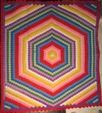 Double Hexagon Quilt from FISHER HERITAGE.