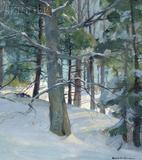 Emil Gruppe painting at Skinner Inc.  Jan.  28 sale.