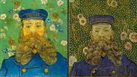 "Part of the exhibition ""Van Gogh: Repetitions are these two works by van Gogh.  Left, Collection Kröller-Müller Museum, Otterlo; right, Museum of Modern Art/Licensed by SCALA — Art Resource, NY"
