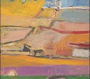 Berkeley No.  52, Richard Diebenkorn, 1955, picked by the Obamas for the White House in 2009.