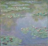 "Water Lilies, 1907, Claude Monet.  One of 17 ""On the Water"" works eligible for selection in the MFA's crowdsourced exhibition ""Boston Loves Impressionism."""
