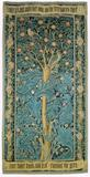 William Morris, The Woodpecker, 1885, Wool and silk on cotton, © William Morris Gallery