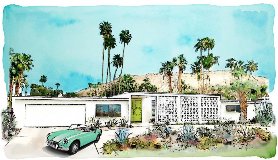 The Christopher Kennedy Compound: Modernism Week Show House 2019.