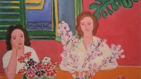 Elmyr de Hory painting, after Matisse