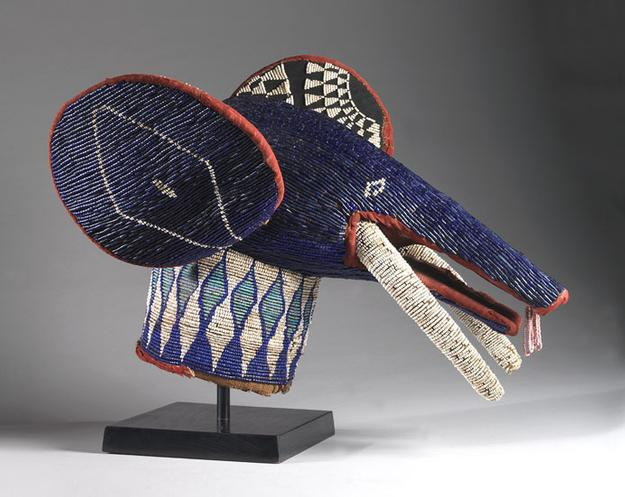 "The proposed work from the African art department is ""Elephant Headress."""