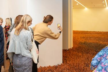 Antony Gormley's Field for the British Isles, Firstsite Colchester
