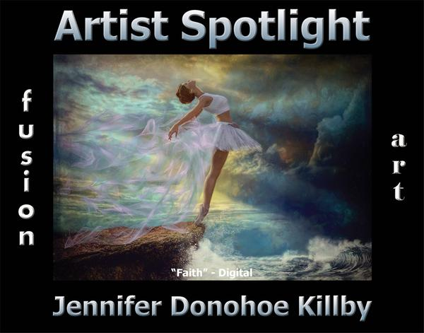 Jennifer Donohoe Killby - Artist Spotlight Solo Art Exhibition www.fusionartps.com