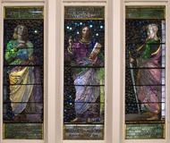 The John La Farge triptych will be on display at this year's BIFAS