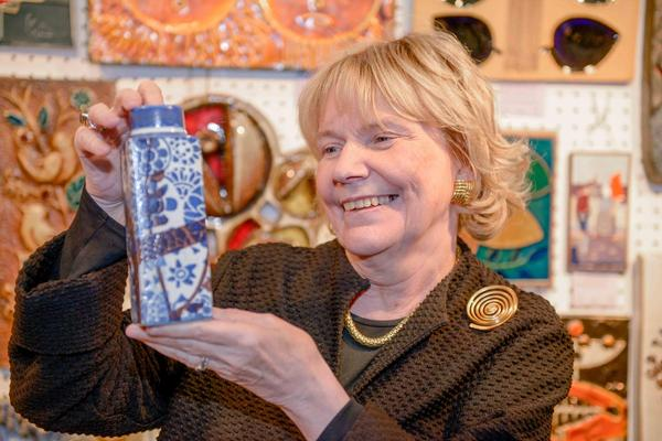 Judith Miller at Art & Antiques for Everyone