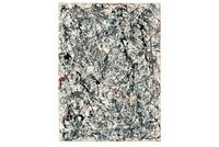 Jackson Pollock, Number 19, 1948.  Oil and enamel on paper laid down on canvas, 30 7/8 x 22 7/8 in.  (78.4 x 58.1 cm.).  Painted in 1948.  Estimate: $ 25,000,000-35,000,000.  Sold for $58.4 million at Christie's in May 2013.