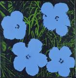 Flowers, 1964.  Andy Warhol, Screenprint on canvas, from First Look: Collecting for Philadelphia, on view from July 13, 2013 through September 8, 2013.