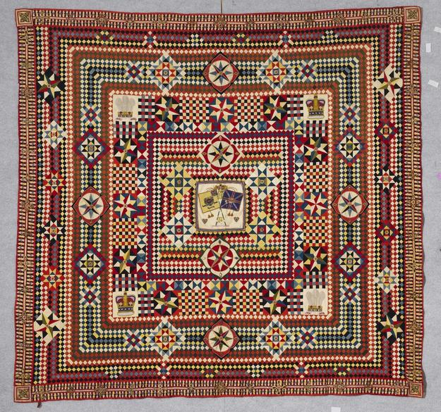 """War and Pieced: The Annette Gero Collection of Quilts from Military Fabrics"" will go on view at the American Folk Art Museum in New York from September 6, 2017 through January 7, 2018."