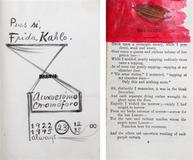 Frida Kahlo's copy of The Works of Edgar Allan Poe will be offered by Leslie Hindman Auctioneers on August 9th.