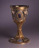 The Buch chalice, which belongs to Hillwood Museum and Gardens in Washington, D.C., serves as the centerpiece of the exhibition.