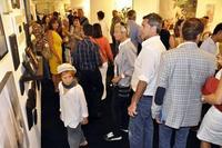 The crowds at artMRKT Hamptons
