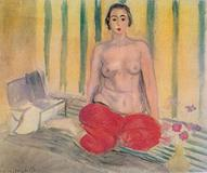 Henri Matisse (French, 1869-2004), 'Odalisque in Red Pants,' 1925, has been returned to the Museum of Contemporary Art in Caracas.