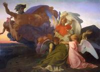 Death of Moses, Alexandre Cabanel