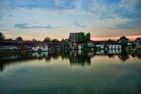 Sri Padmanabhaswamy temple in South India.