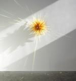 AMBER STAR No.2 2012 Cast glass/aluminum 32 X 32 X 18 1/2 in.  (81.28 X 81.28 X 46.99 cm)