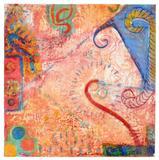 Tracy Harris, Hypnotist, 2013 Encaustic on wood 30 x 30 inches