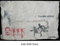 Banksy, Kids with Guns