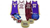 Kobe Bryant memorabilia at Goldin Auctions