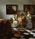 Johannes Vermeer, The Concert (ca.  1664), stolen from Boston's Isabella Stewart Gardner Museum in 1990.