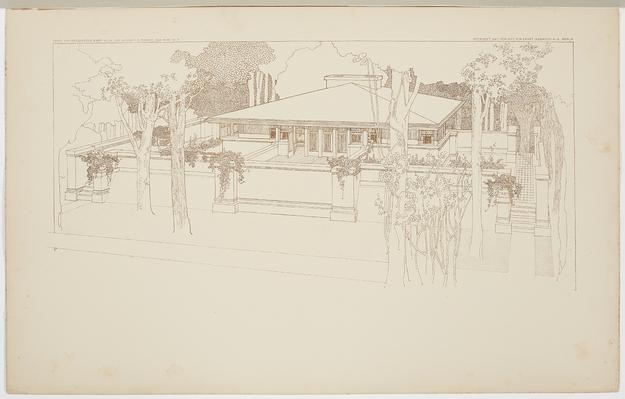 Frank Lloyd Wright: Buildings for the Prairie is on view July 28–October 15 at Milwaukee Art Museum.