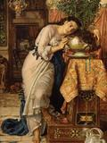 "William Holman Hunt's ""Isabella and the Pot of Basil"" sold for $4.25 million at Christie's."