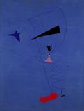 Joan Miró's Peinture (Étoile Bleue), 1927, sold for a record $37 million at Sotheby's.
