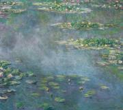 """Painted in 1906 by Claude Monet, """"Nympheas"""" fetched 31.7 million pounds ($54 million)."""