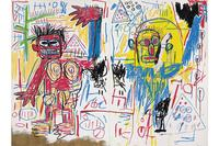 """Untitled"" (1982) by Jean-Michel Basquiat sold for $29 million at Christie's in London on June 25, 2013."