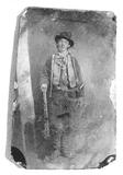 This original tintype is the only authenticated photo of Billy the Kid in existence today.  It was purchased for $2.6 million (with 15% commission) at a Denver auction on June 25, 2011.