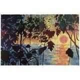 """""""Dschungel"""" (Jungle) (1967) by Sigmar Polke."""
