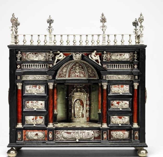 An Augsburg 17th century table cabinet (£30,000-50,000).